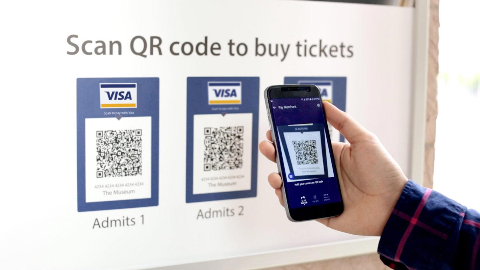 Scan to pay for acquirers