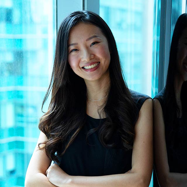 Airwallex Director of Financial Partnerships, Holly Fang.