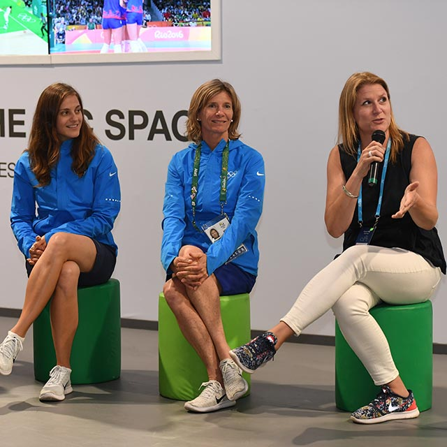 panelists give retiring athletes advice