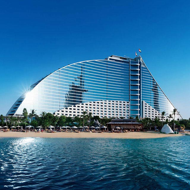 Jumeirah, Beach, Dubai, Wave